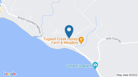 Sea of Serenity With Spectacular Ocean Views+self-catering Breakfast Tray Map