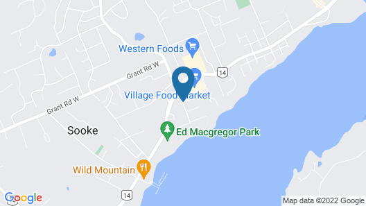 Mariner's Escape by BC Island Vacation Homes Map