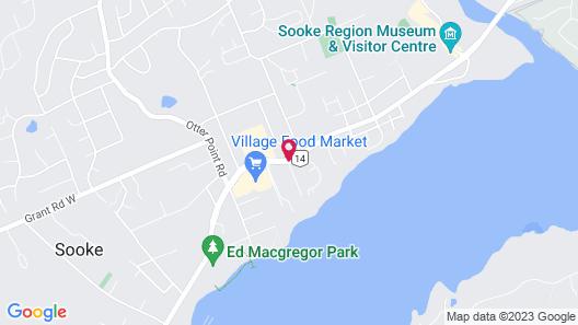Ty Collwyn Waterfront Retreat Map