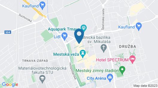 Hotel MAXPLAZA Map