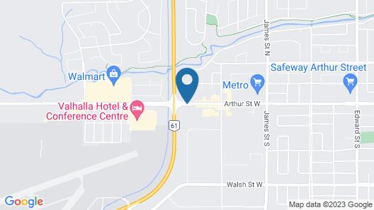 Ramada by Wyndham Thunder Bay Airlane Hotel Map