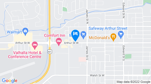 Victoria Inn Hotel and Convention Centre Map