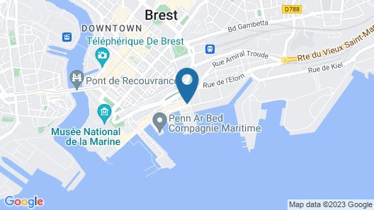 Les Gens De Mer - Brest Map