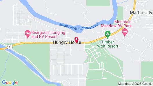 Mini Golden Inns Motel Map