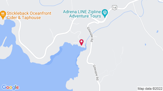 Arbutus Cove Guesthouse Map
