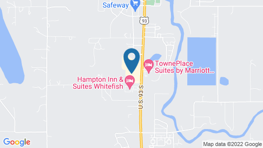 Baymont by Wyndham Whitefish Map