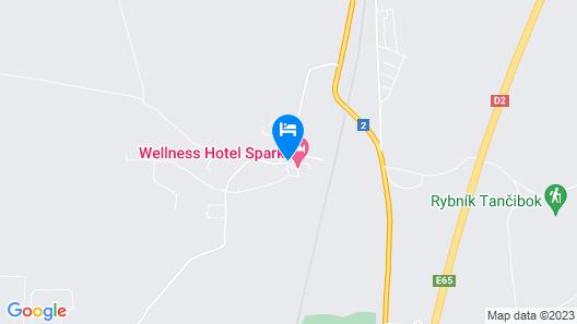 Wellness hotel SPARK Map