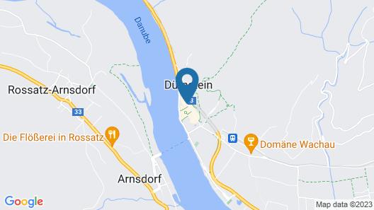 Hotel Schloss Durnstein Map
