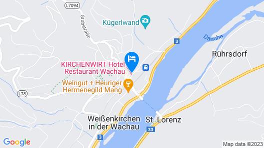 Hotel-Restaurant Kirchenwirt Wachau Map