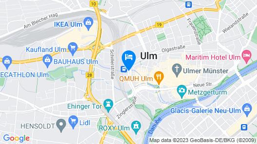 IntercityHotel Ulm Map