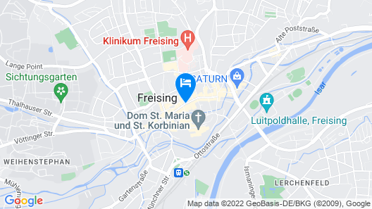 Bayerischer Hof Freising Map