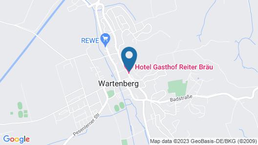 Hotel Reiter Bräu Map