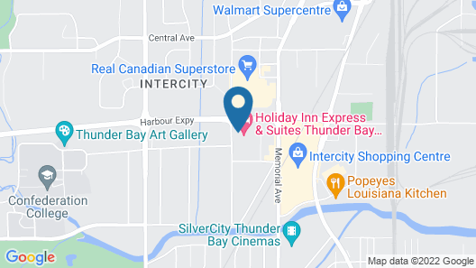 Holiday Inn Express & Suites Thunder Bay, an IHG Hotel Map