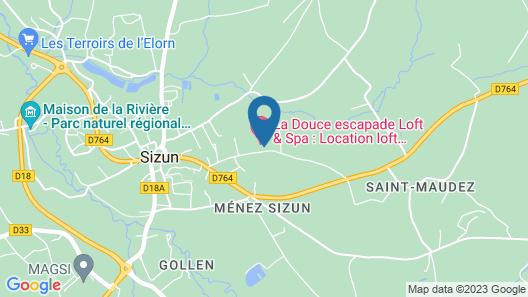 Le Jardin Des Monts Map