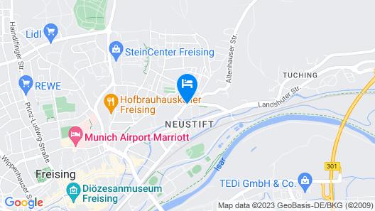 Hotel Am Klostergarten Map