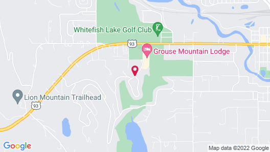 Grouse Mountain Lodge Map