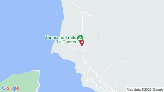 La Conner RV & Camping Resort Map