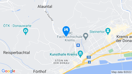 Steigenberger Hotel & Spa Krems Map