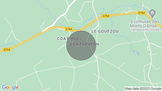 Vacation Home Le Clos de Goaz Ar Vern in Commana - 4 Persons, 2 Bedrooms Map