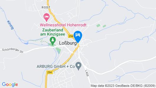 Landgasthof Hotel Hirsch Map