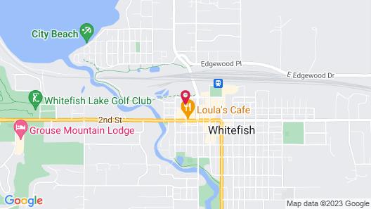 Whitefish Hostel Map