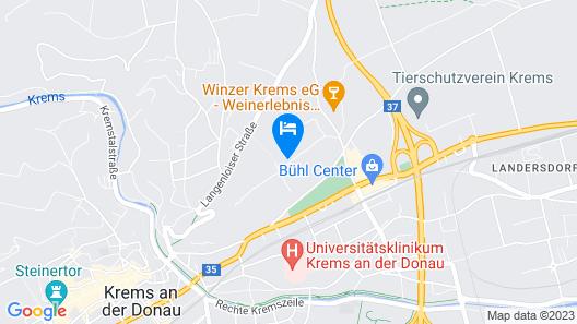 Hotel Wein-gut Hutter Map