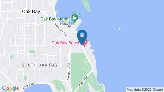 Oak Bay Beach Hotel Map