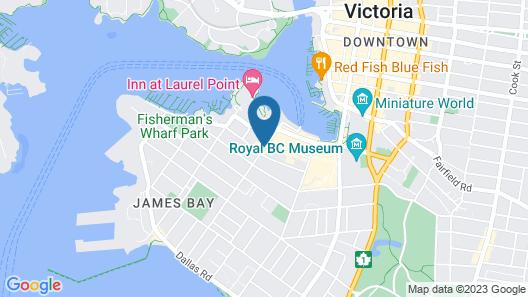 The Oswego Hotel Map