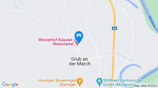 Winzerhof Küssler, Weinviertel Map