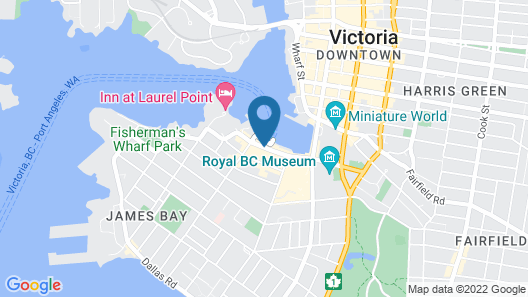 Days Inn by Wyndham Victoria On The Harbour Map