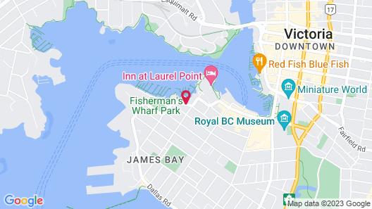 Coast Victoria Hotel & Marina by APA Map