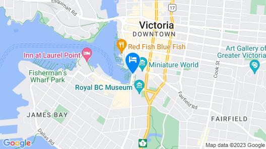 Fairmont Empress Map