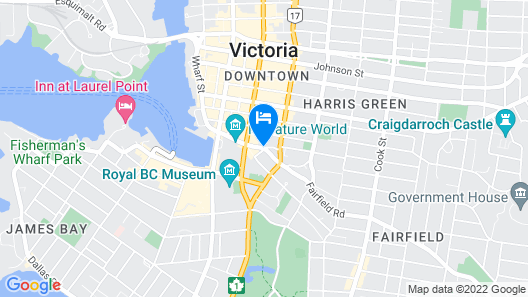 Chateau Victoria Hotel and Suites Map