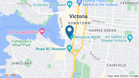 The Union Club of British Columbia Map