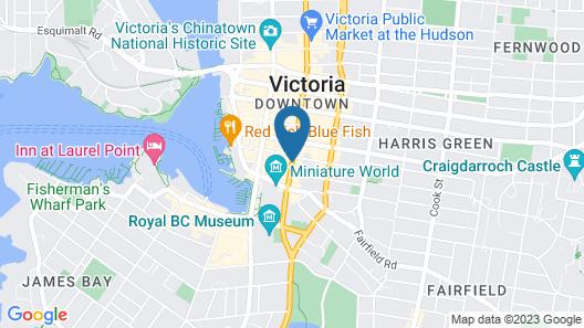 Strathcona Hotel Map