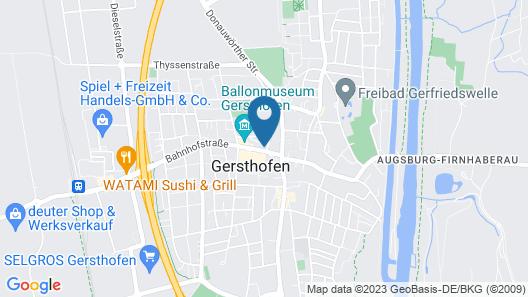 Stadthotel Gersthofen Map