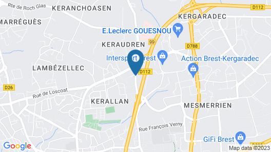 Best Western Plus Europe Hotel Map