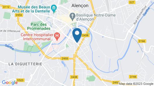 La Maison de Mathilde Map