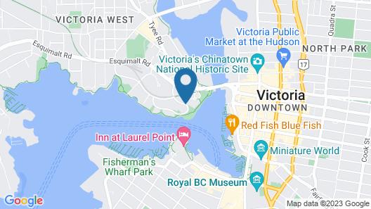 Delta Hotels by Marriott Victoria Ocean Pointe Resort Map
