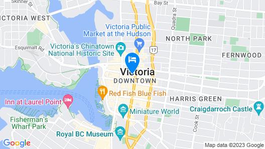 Best Western Plus Carlton Plaza Hotel Map