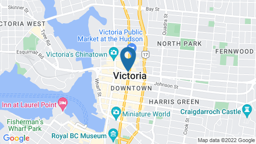 Hotel Rialto Map