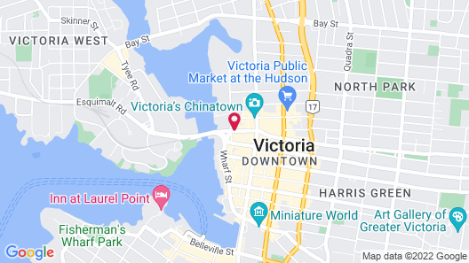 Swans Brewery, Pub and Hotel Map