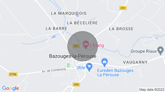 Peace and Tranquility at L'Etang Map