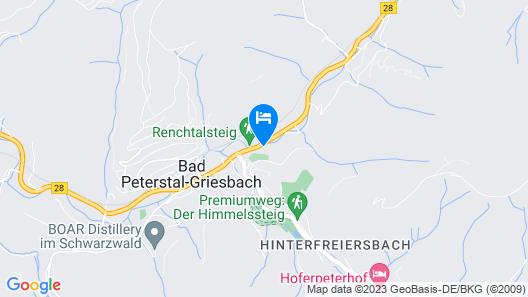 Stahlbad Bad Peterstal Map