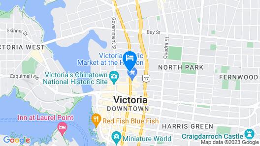 Island Travel Inn Map