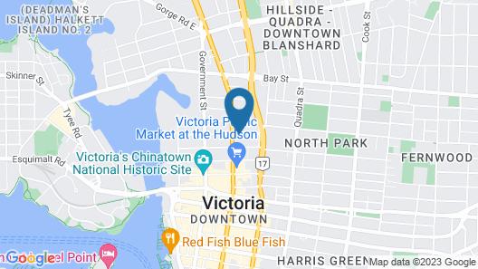 Capital CityCenter Hotel Map