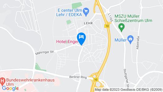 Hotel Engel Map