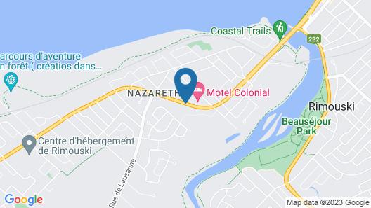 Comfort Inn Rimouski Map