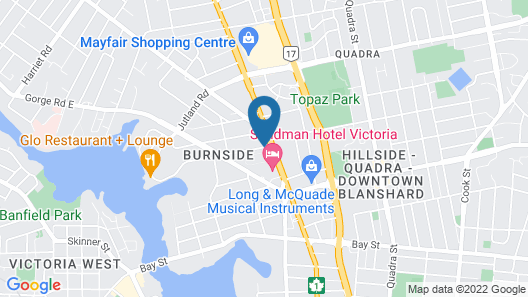 Metro Inn Map