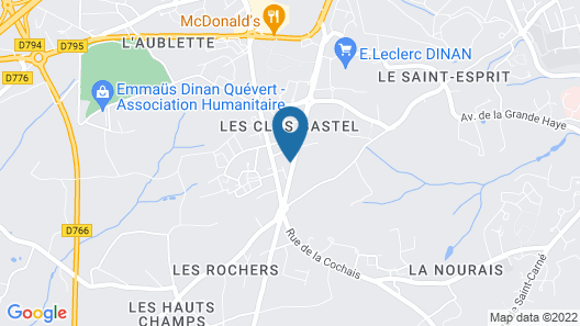 Auberge du Guinefort Map